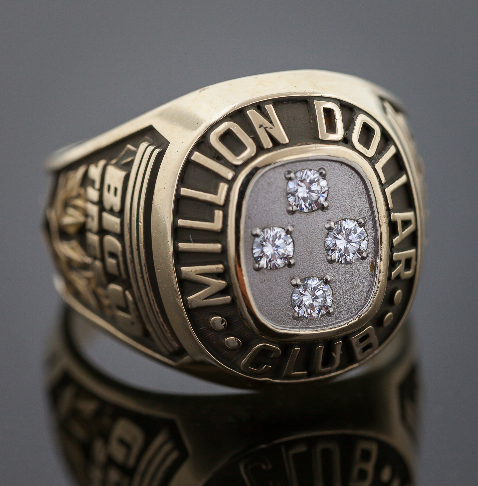 Million Dollar Club Big O Tire 10k Terry Berry Gold Ring