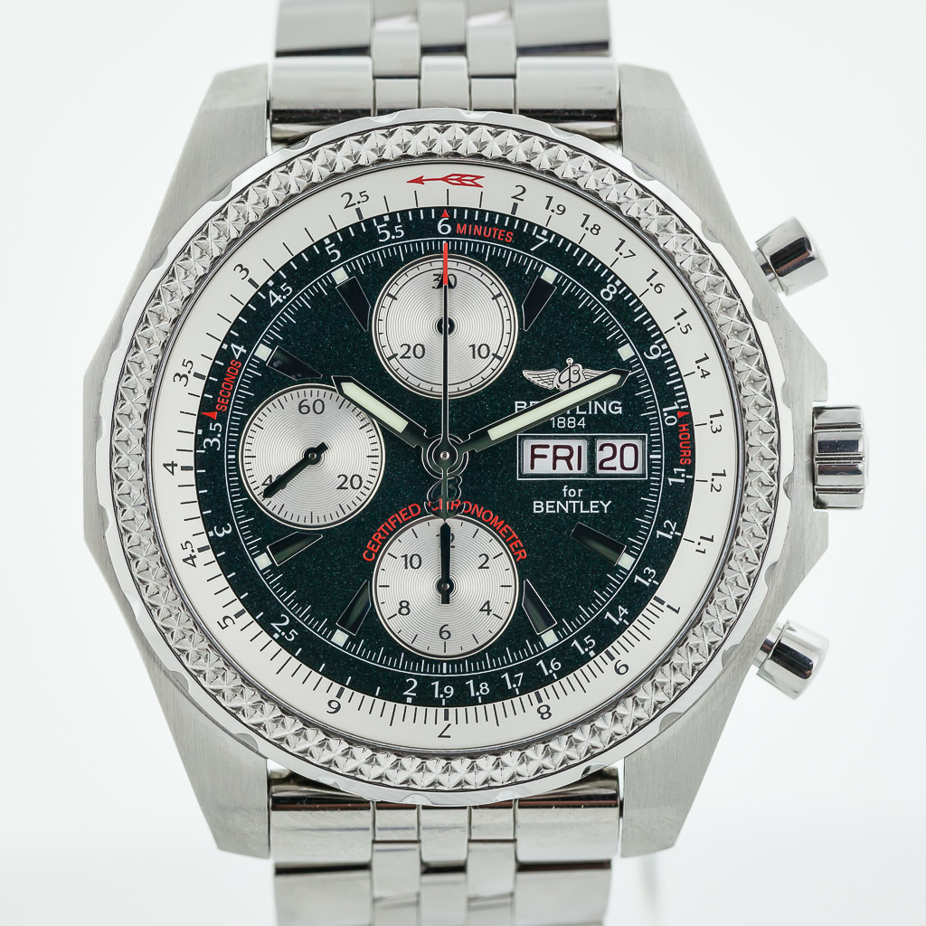 Breitling Bentley Gt Wristwatches: Breitling For Bentley Continental GT, A13363, Mens