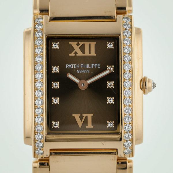 4012fb3bec0 Patek Philippe Ref: 4910-11, Twenty-4, Ladies, 18K Rose Gold ...