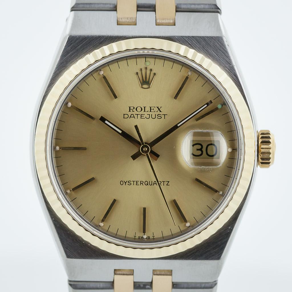 bbd7d6e8c63b Rolex Datejust Oysterquartz